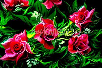 Wall mural Różane Wspomnienie