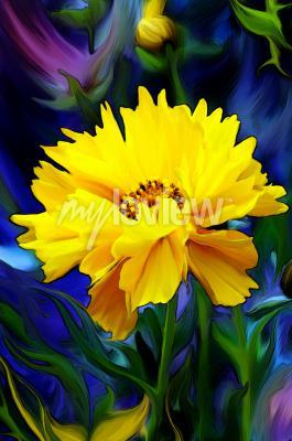 Wall mural Słoneczny Kwiat