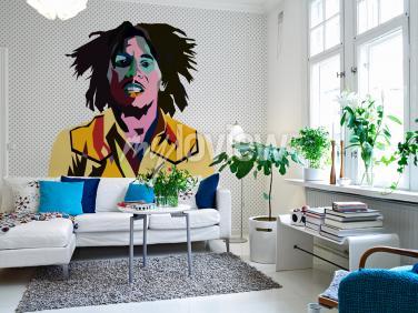 Wall mural Bob Marley