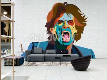 Wall mural Mick Jagger