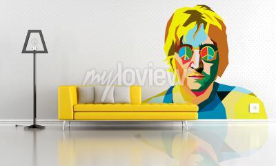 Wall mural John Lennon