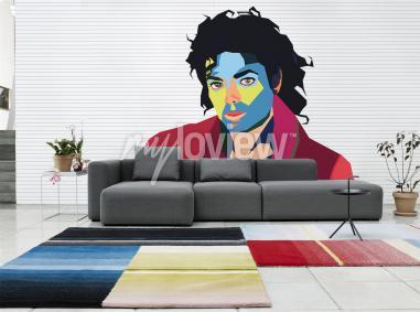 Wall mural Michael Jackson
