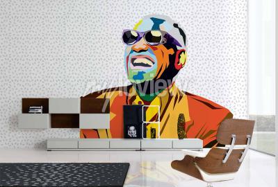 Wall mural Ray Charles