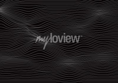 Wall mural Waves