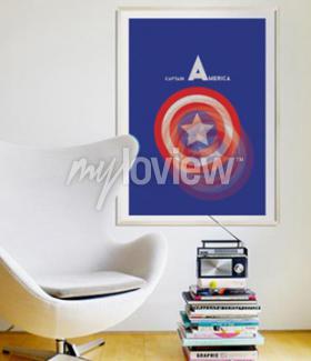 Wall mural Captain America