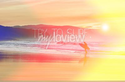 Try to surf