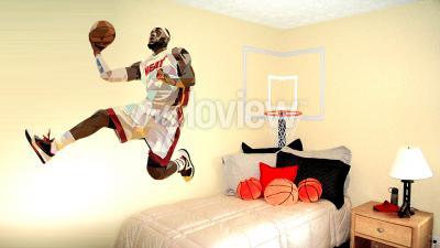 Wall mural LeBron James