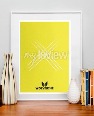 Wall mural Wolverine