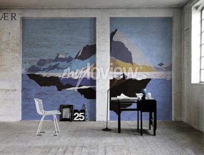 Wall mural Mountains
