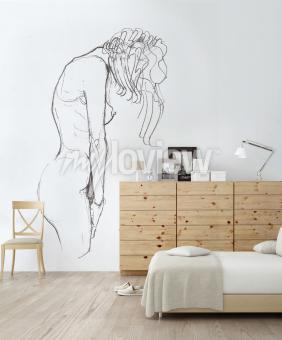 Wall mural Meditation