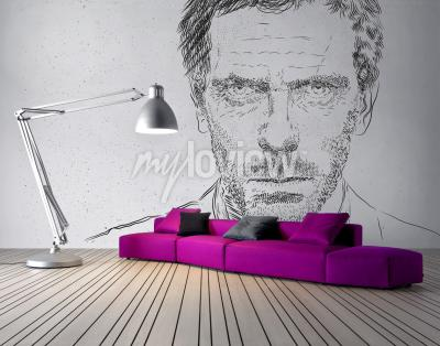 Wall mural Dr House