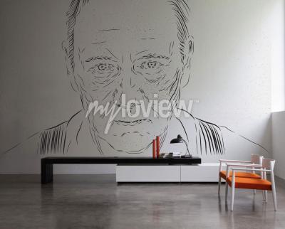Wall mural Francis Underwood