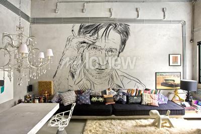 Wall mural Hank Moody