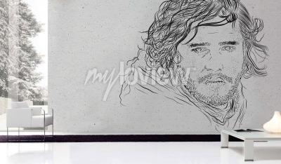 Wall mural Jon Snow