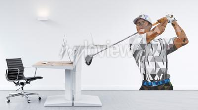 Wall mural Tiger Woods