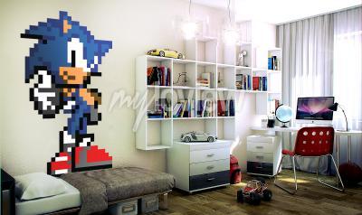 Wall mural Sonic R