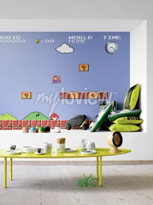 Wall mural Mario