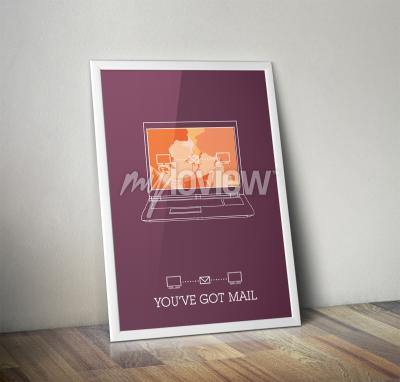 Wall mural You've Got Mail