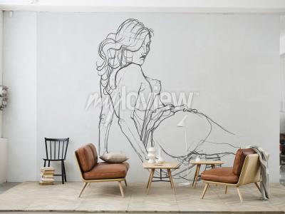 Wall mural Lust