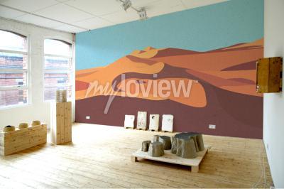 Wall mural Desert