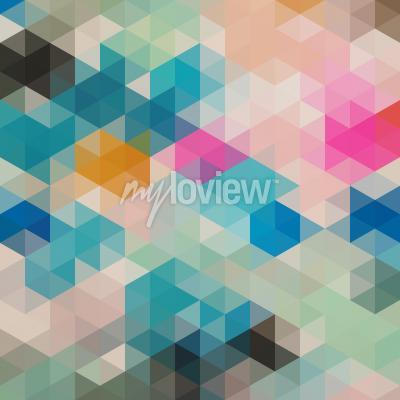 Wall mural Geometrical triangles 1