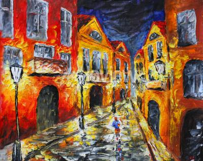 Canvas print Modern Impressionism