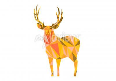 Canvas print Deer