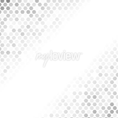 Sticker Abstract Grey Pattern