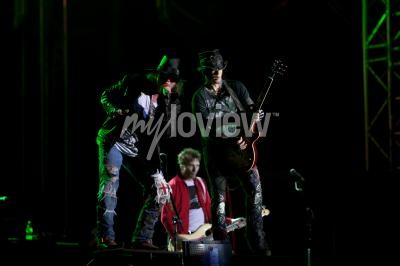 Wall mural Guns N' Roses performs at EXIT 2012 Music Festival