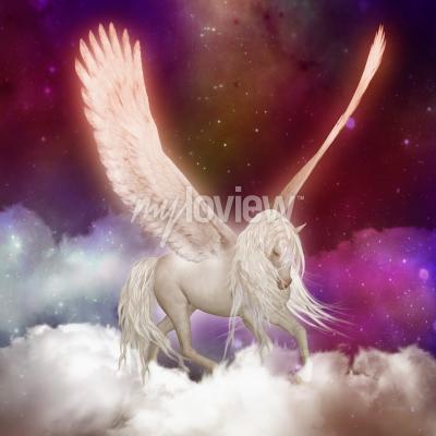 Wall mural Pegasus