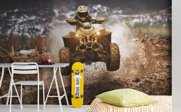 Wall mural for a boy – extreme sport