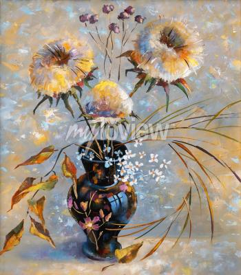 Canvas print Artwork. Dry flowers. Author: Nikolay Sivenkov