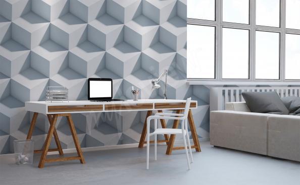 3D office mural