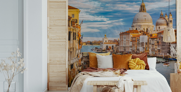 A view of Grand Canal mural