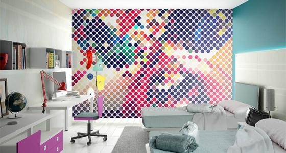 Teen's room - inspirations with wallpapers for teenagers