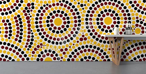 Australian mosaic mural