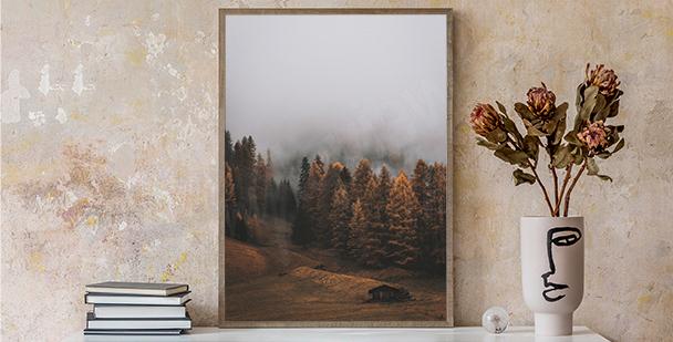 Autumn nature poster