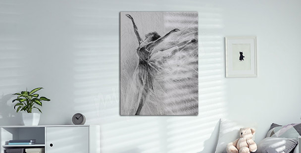 Sport canvas print for living room
