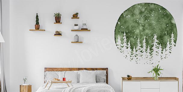 Bedroom wall sticker