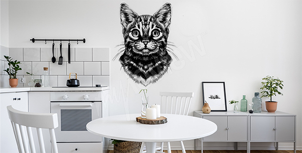 Bengal cat sticker