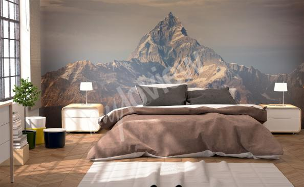 Big mountain wall mural
