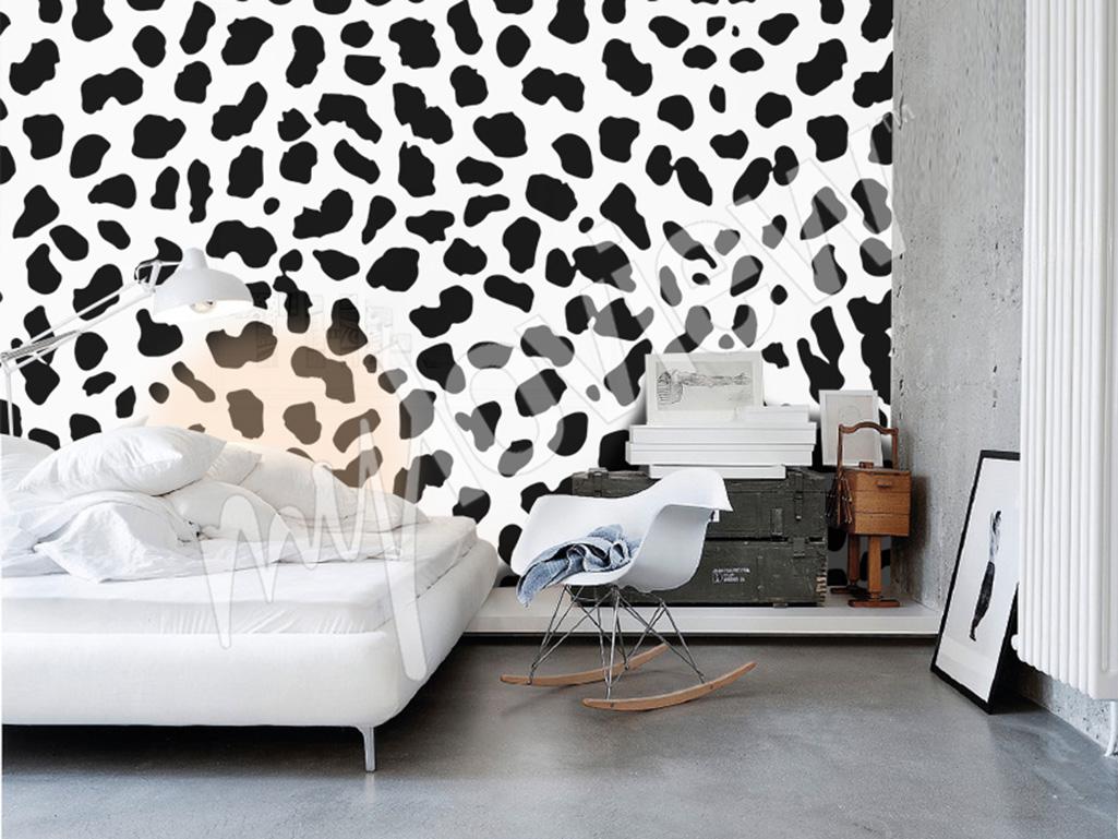 Bedroom mural pattern