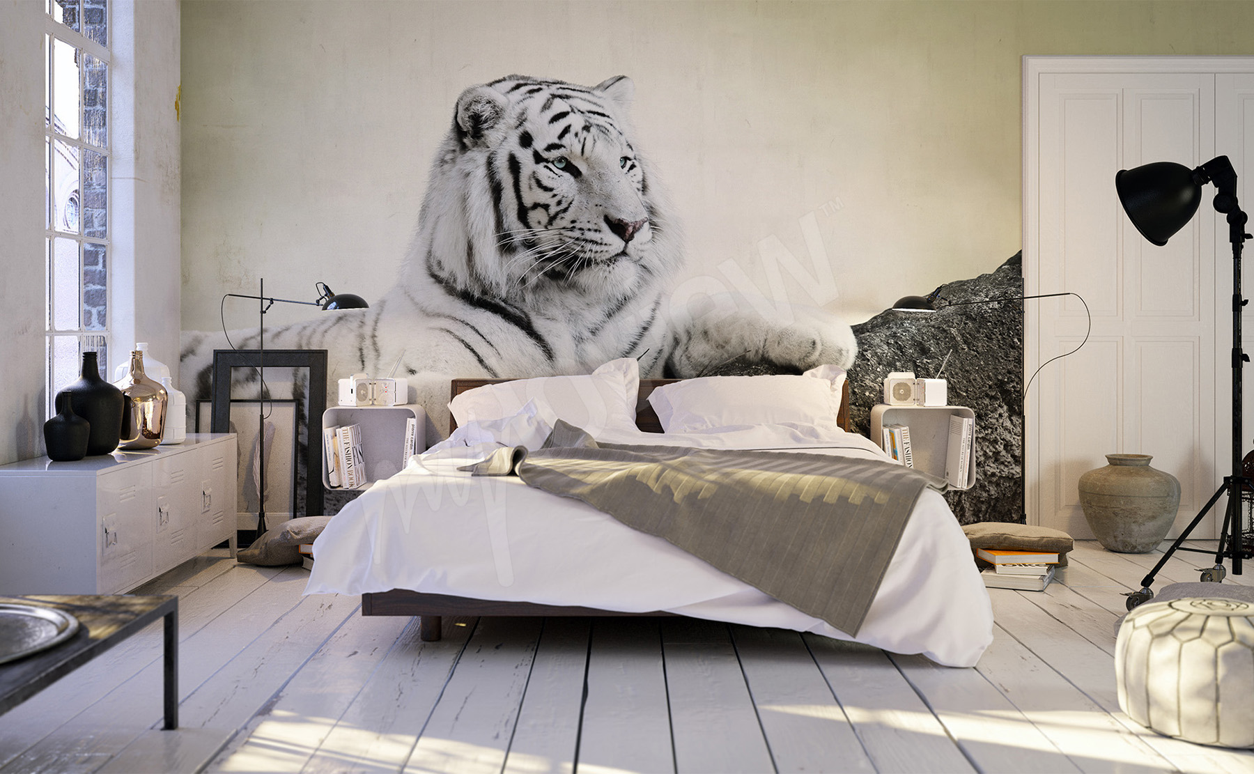 Murals Tiger • to size of wall | myloview.com