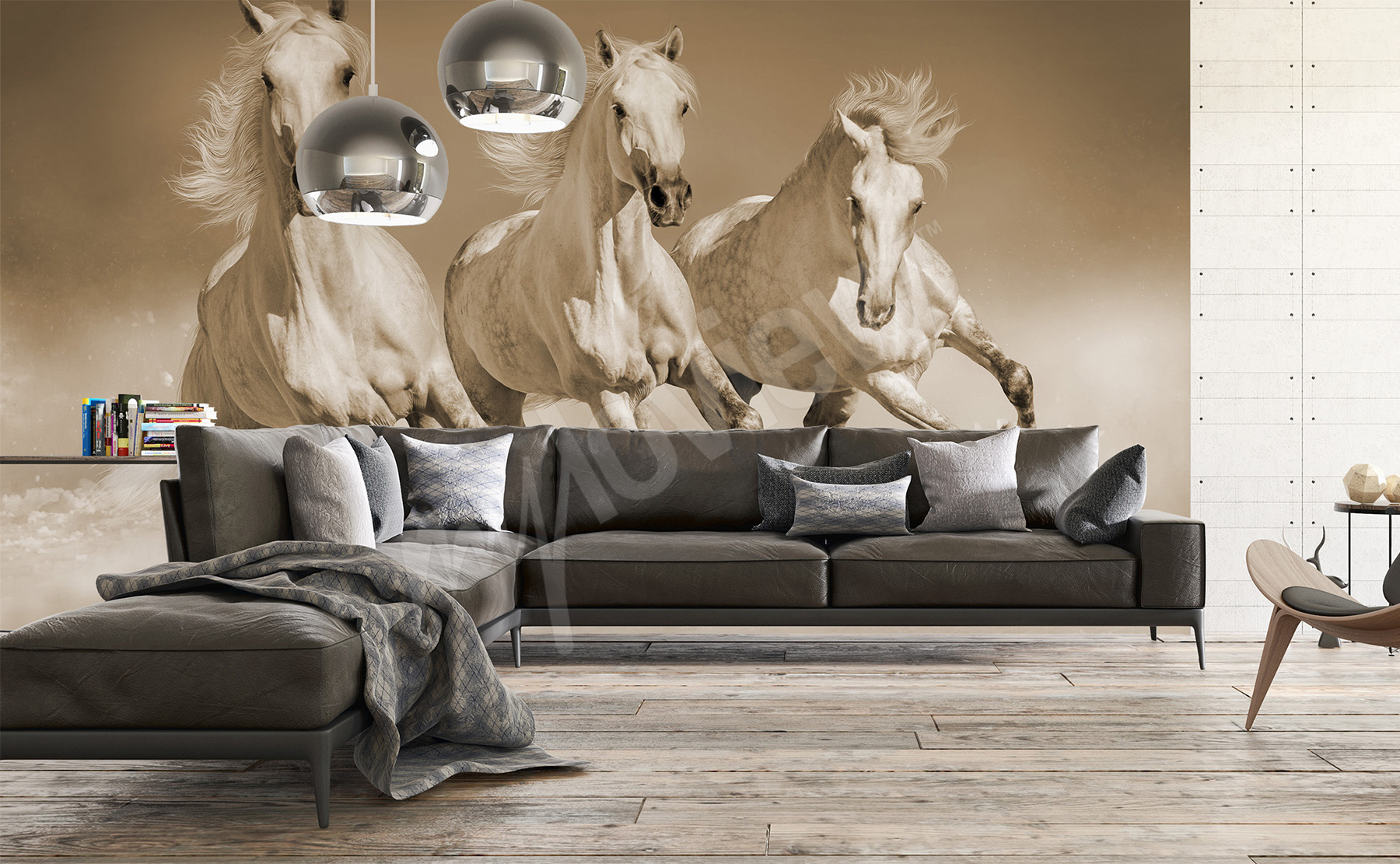 Go To The Product Galloping Horses Wallpaper
