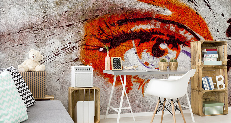 Graffiti murals – the voice of the streets in your apartment