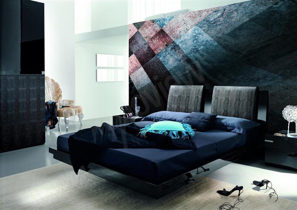 Modern mural for bedroom