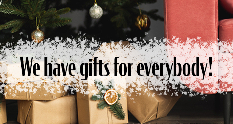 Christmas gift ideas? We already know what you should put under the Christmas tree this year!