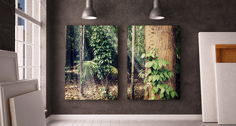 Personalized canvas prints: a new quality of interior decoration
