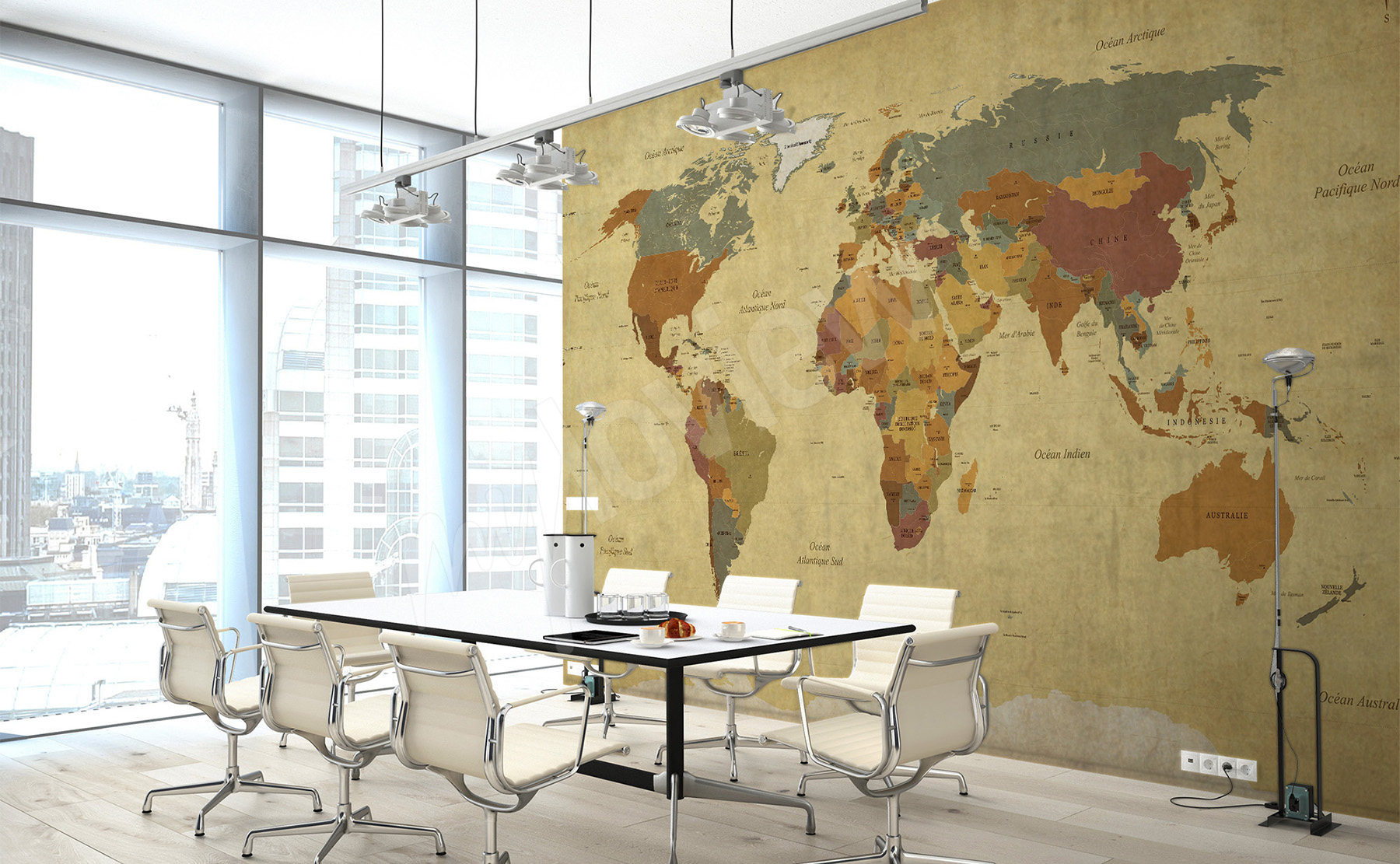 Murals World map • to size of wall | myloview.com
