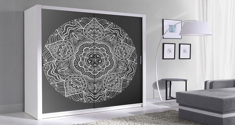 Change the look of your furniture: decorative stickers